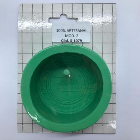 FORMA DE SILICONE 100% ARTESANAL PEQ. (S-1079)