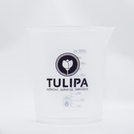COPO DE BECKER CAP 2.000ML - TULIPA