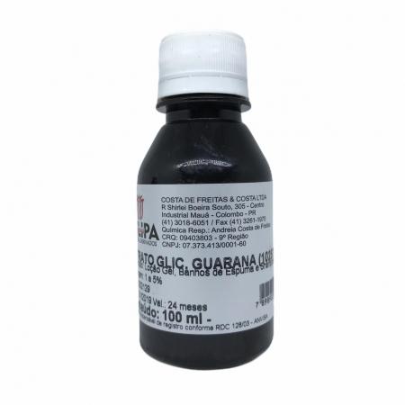 EXTRATO GLICOLICO DE GUARANA 100ML