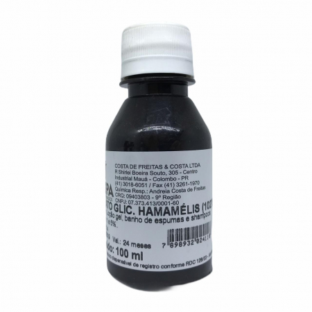 EXTRATO GLICOLICO DE  HAMAMELIS -  100ML